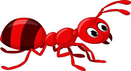 pincher: red ant cartoon