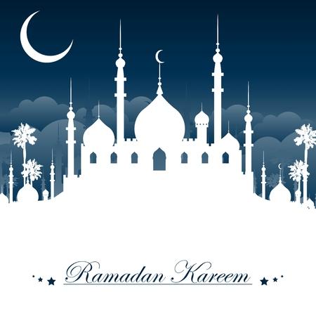 ramadan kareem background 일러스트