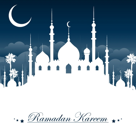 ramadan kareem background 矢量图像