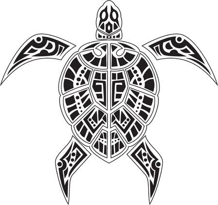 polynesian: turtles tatto for you design