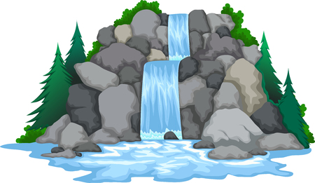 beautiful waterfall for you design
