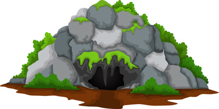 cute cave cartoon for you design