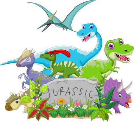 prehistory: funny jurassic animal