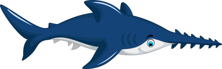 sea saw: cute shark saws cartoon for you design