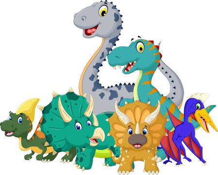 liane: funny jurassic animal cartoon for you design