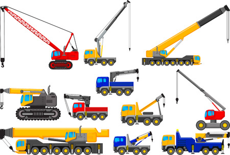 telescopic: collection of Lifting crane for you design