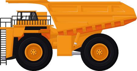 yellow tractors: dump truck cartoon for you design