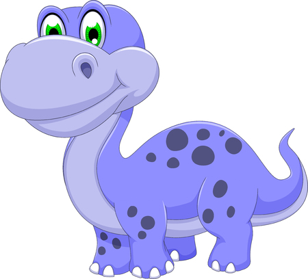 carboniferous: cute dinosaur cartoon smiling