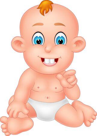 Bande dessinée drôle de bébé pour votre conception
