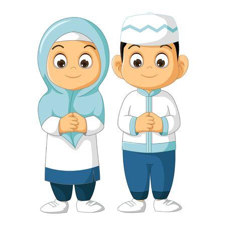 Muslim Little Kids Cartoon