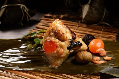 Gnocchi di riso del festival della barca del drago di Taiwan