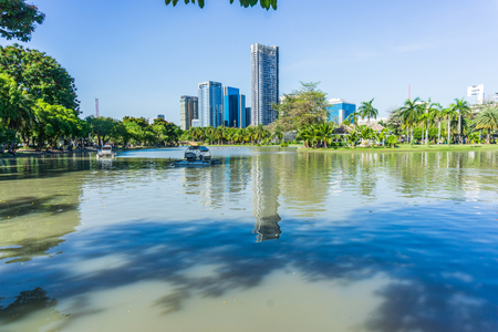 CHATUCHAK PARK, A large public park that sits next to Chatuchak Weekend Market in Bangkok Thailand