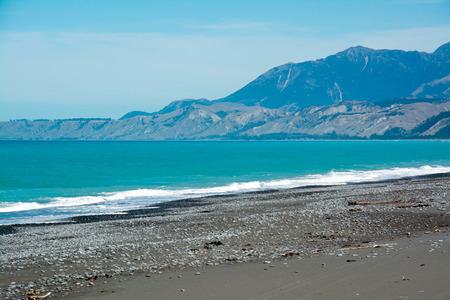 aotearoa: Rugged coastline of Kaikoura