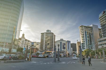 newzealand: Wellington, New Zealand - March 3, 2016: Cityscape of Wellington, capital city of New Zealand, located on north island