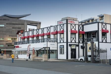 newzealand: Wellington, New Zealand - March 3, 2016: Circa Theatre on Wellington waterfront, north island of New Zealand