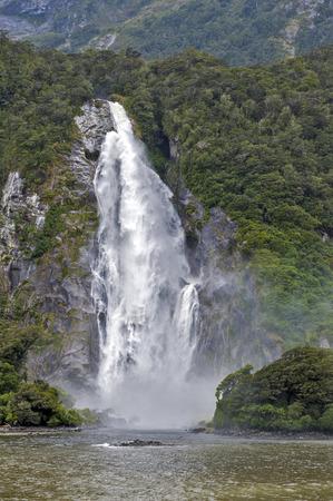 Lady Bowen Falls, Milford Sound, New Zealand
