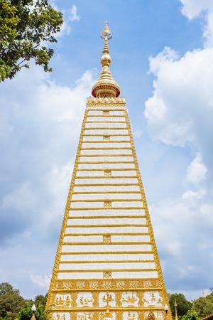 renunciation: Phrathat Nong Bua temple in Ubon Ratchathani, Thailand. Stock Photo