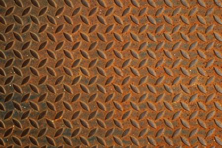oxidate: metal rust background close up