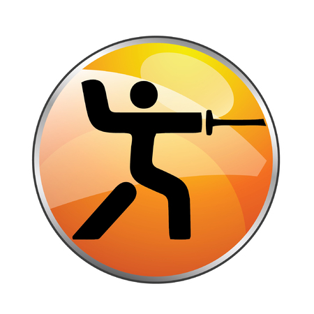 con man: Huge assortment of people playing various summer and winter sports. Vector icons for digital and print projects.