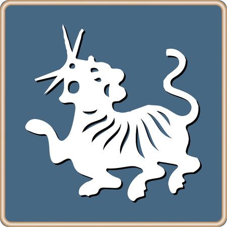 Horoscope Chinese Zodiac set vector