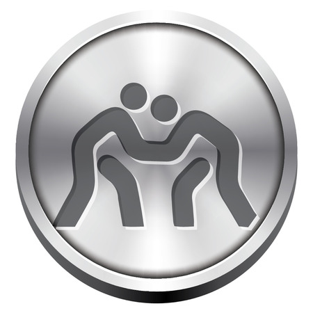 con man: sports icons Illustration