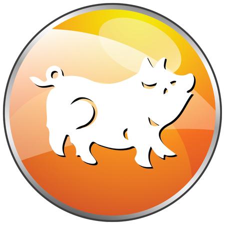 year of the ox: Horoscope Chinese Zodiac set vector