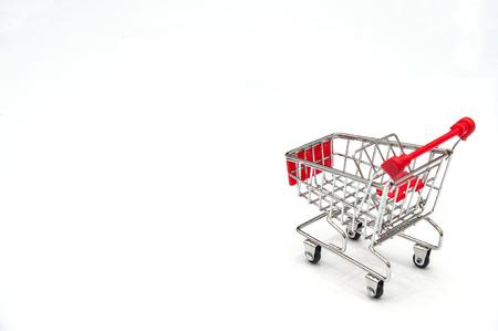 pushcart: supermarket shopping cart