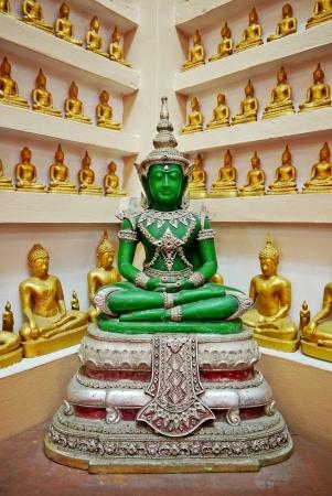 unruffled: Buddha statue   Stock Photo
