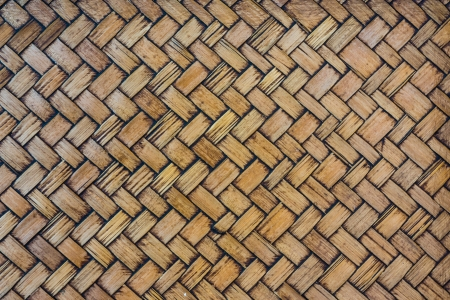Bamboo weave yellow and detail texture style