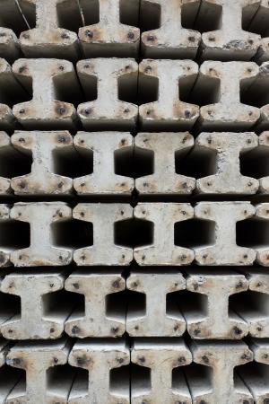 Stake Konstruktion platziert sind horizontale