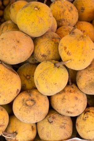 Santol tropical fruit in thailand Stock Photo