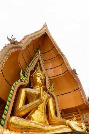 Buddha statue on isolate white background Stock Photo