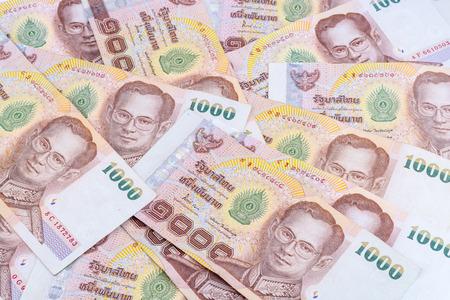 Thai Money Thai Currency 1000 Baht Stock Photo