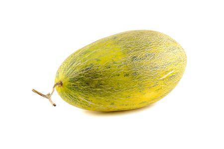 oval shape: cantaloupe oval shape isolated on white background