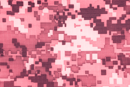 magenta dress: Red digital camouflage fabric texture background or backdrop