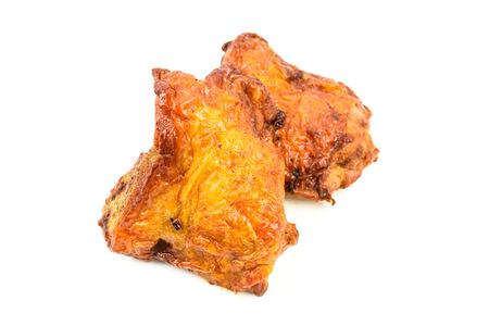 chicken roast isolated on white background