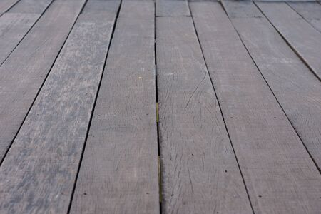close up and detail of wooden planks