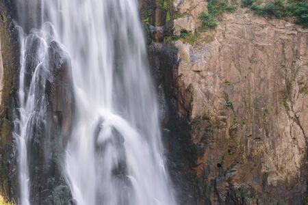 Haew Narok Waterfall at Khao Yai National park, Nakhon Nayok  province, Thailand. Stock Photo