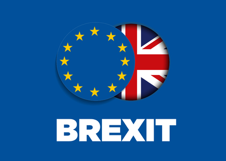 Brexit - Removal of the United Kingdom from the European Union Reklamní fotografie