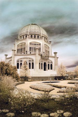 Bahai Temple in Wilmette, Illinois photo