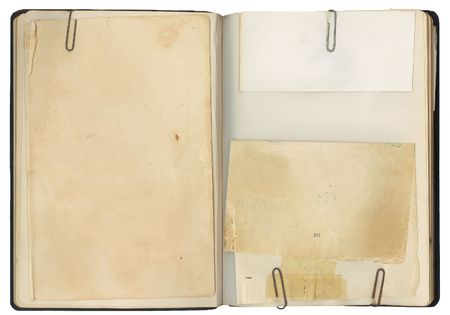 Blank pages in an antique book with copy-space for your own text. Stock Photo - 3544318