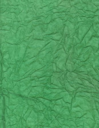 Crumpled tissue paper background texture. photo