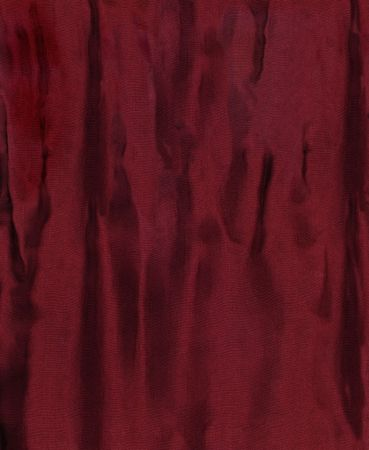 Dark red wrinkled woven fabric for a background texture.