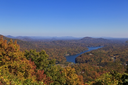 Lake Lure in NC Stock Photo - 17289624