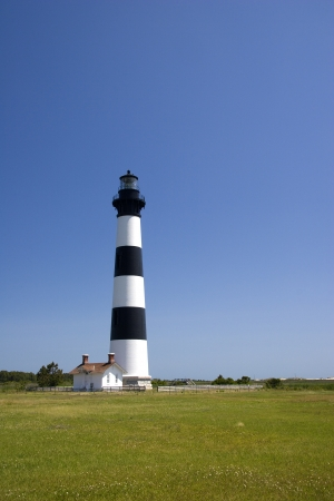 outerbanks: Bodie Island Lighthouse with Keeper s House
