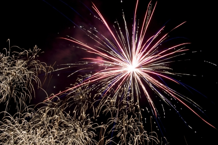 Fireworks Stock Photo - 17467004