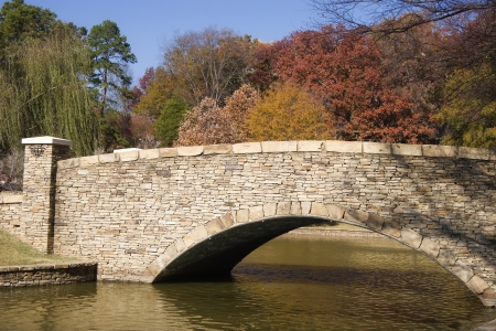 Freedom Park Bridge in Charlotte Stock Photo - 17510476