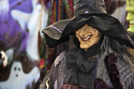 Wicked Witch Halloween Decoration photo