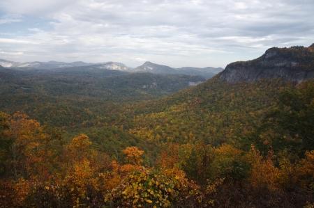 overlook: Highlands Overlook in Autumn