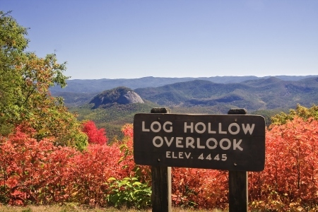 Blue Ridge Parkway Overlook photo